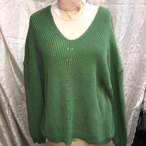 Knit sweater size large